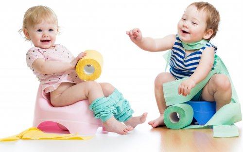 Як привчити дитину до горщика